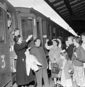 Stockholms Tredje kår Officerarnas Farväl 1950