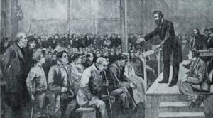 William_Booth_predikar_i_Whitechapel_1865_teckning