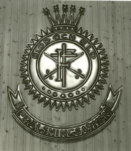 Frälsningsarmén Kristinehamn Fondväggen