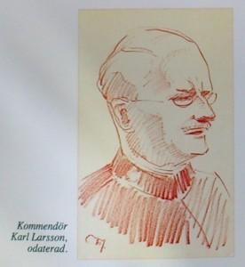 Kommendör Karl_Larsson teckning_W.Tiberg