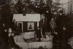 Vinterhögtidsfest Härnösand 1903