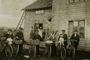Bykrig i Vemdalen 1920
