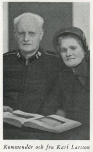 Kommendör & fru Karl & Anna Larsson