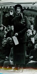 Evangeline Booth dramatisk talare