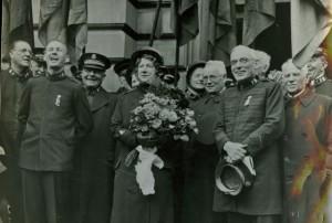 General Evangeline Booth kommer till Stockholm