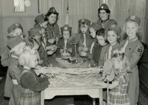 Solstrålarna med ledare Halmstad 1950-talet