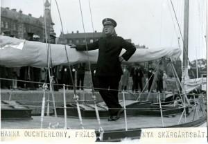 Brigadör Ludvig Görling&Skärgårdsbåten