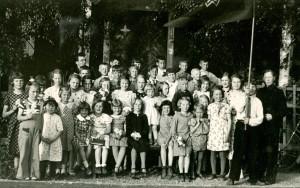 Vallsta Söndagsskola 1937