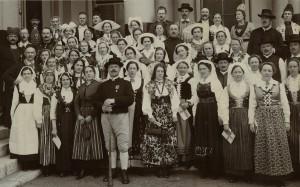 Svenska delegationen Internationella Kongressen London 1914