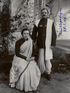 Emilia och Carl Boivie Indien 1908