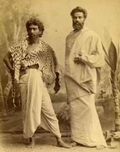 Indiska Stabskaptener på besök i Stockholm 1887