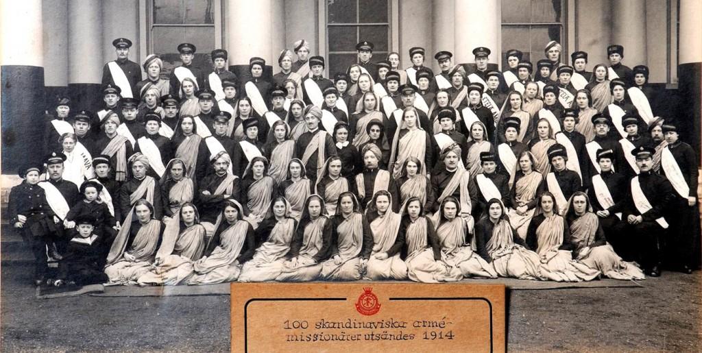 100 Skandinaviska Missionärer 1914