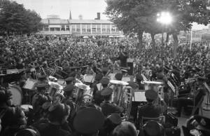 1964 Skansenpubliken var mycket stor