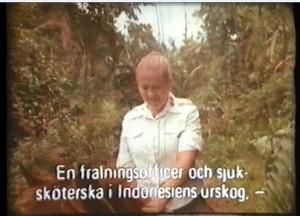 Kapten Eivor Rosengren till häst