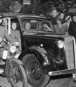 Kongressen 1950_Fältbilen