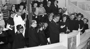 Missionärsinvigning Kongressen 1971