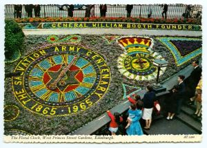The floral Clock 1965 Edinburgh