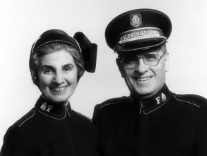 Kommendör och fru Jarl och Maire Wahlström