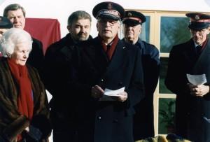 HKH_Prinsessan_Lilian_&_dåvarande_Kommendör_John_Larsson_1997