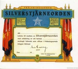 Silverstjärnans_Certifikat_omkr_1970