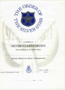 Silverstjärnans_Certifikat_omkr_1995